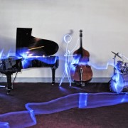 Jazz Band – Light Painting