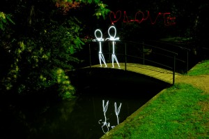 Love - Light Painting